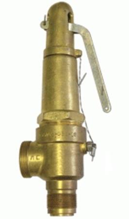 Клапан предохранительный 17б5бк Ду 25