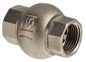 Клапаны латунные обратные VALTEC с латунным золотником (vt.151)