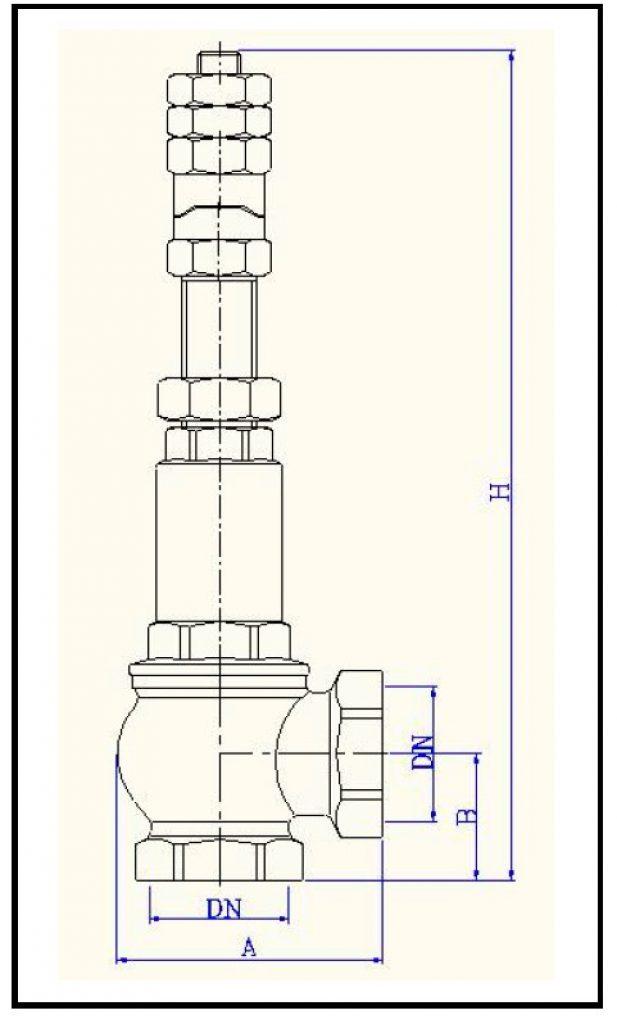 Номенклатура и габаритные размеры VT.1831