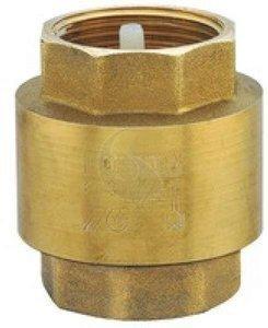 Обратный клапан латунный муфтовый Ду 15