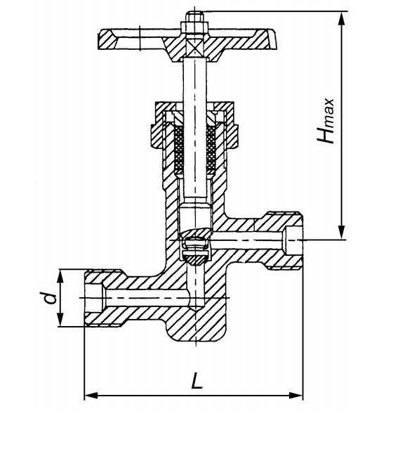 Вентиль стальной 15с11п_2