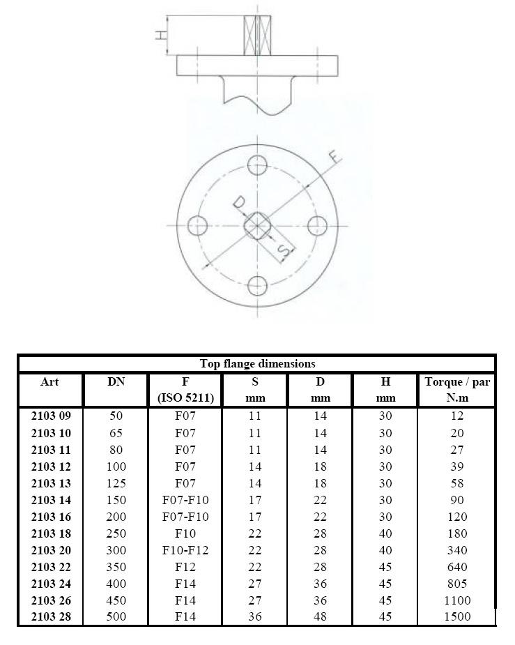 Затвор дисковый поворотный GENEBRE Ду 50 Ру 16