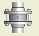 Клапан обратный двустворчатый GENEBRE артикул 2401 и 2402. Инструкция по эксплуатации.