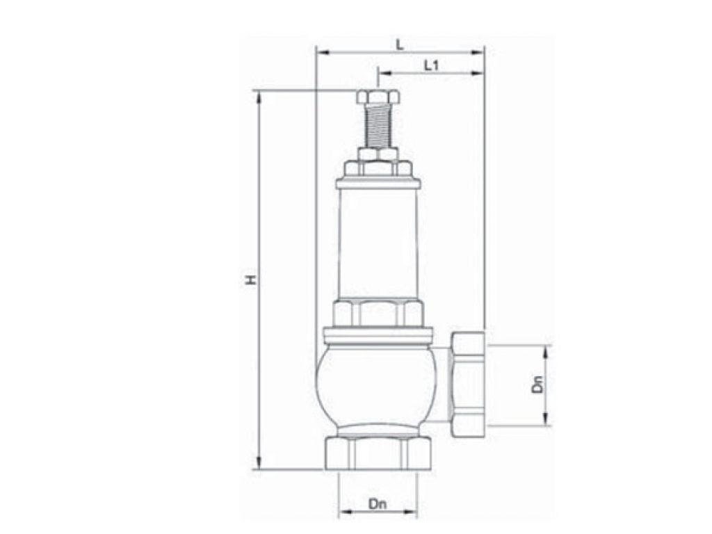 клапан-Genebre-размеры